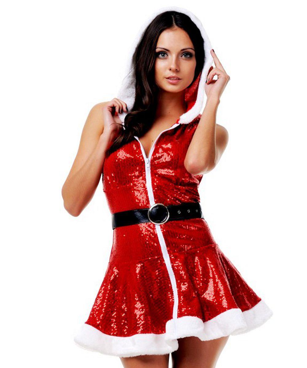 эротичный костюм снегурочки фото - 5