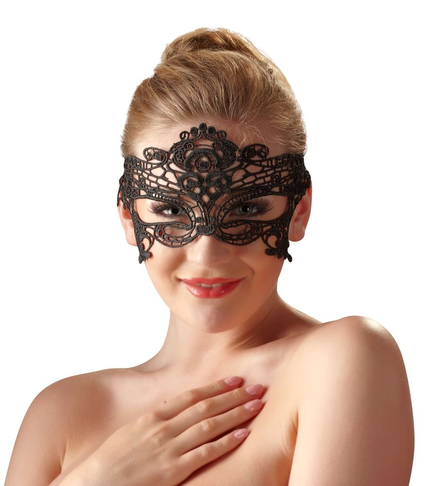 Эротическая маска кружево на глаза